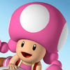 Mario Kart 8 Characters - Toadette