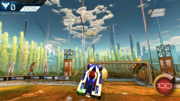 Rocket League Top 10 Essential Tips - Aerial hits are tough as nails