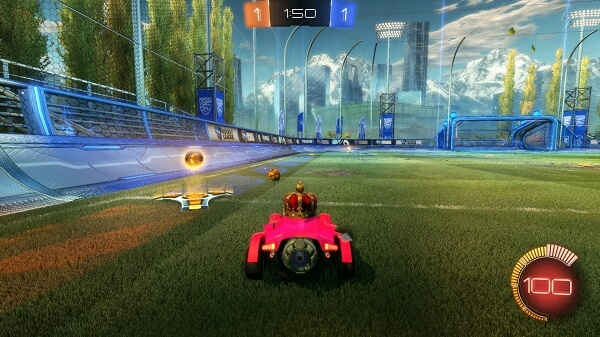 Rocket League Top 10 Essential Tips - Don't waste your boost on every menial turn-over