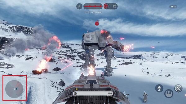 Star Wars Battlefront 2015 Tips and Tricks - Radar-Like Map
