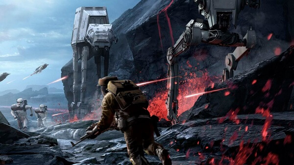 Star Wars Battlefront 2015 Tips and Tricks - how to efficiently fight against AT-ST