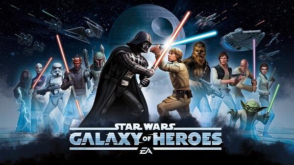 Star Wars Galaxy of Heroes - Gotta catch'em all