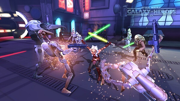 Star Wars Galaxy of Heroes - Save your splash attacks for the last battle