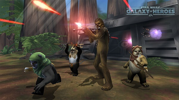Star Wars Galaxy of Heroes - Tank characters are the most important in the game