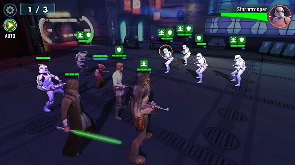 Star Wars Galaxy of Heroes - The Blue Meter is really important