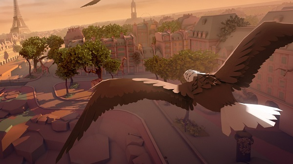 Virtual Reality Games for Oculus Rift - Eagle Flight
