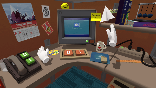 Virtual Reality Games for Oculus Rift - Job Simulator