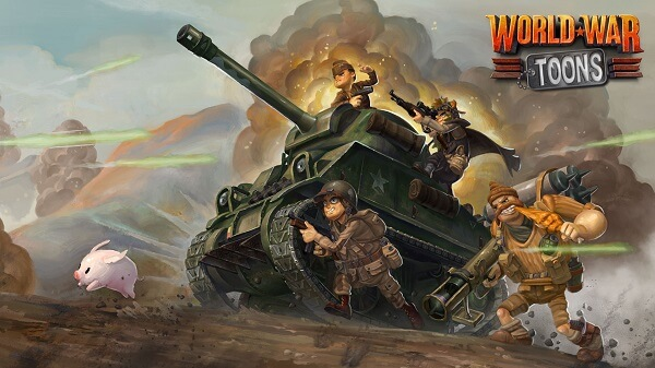 Virtual Reality Games for Oculus Rift - World War Toons