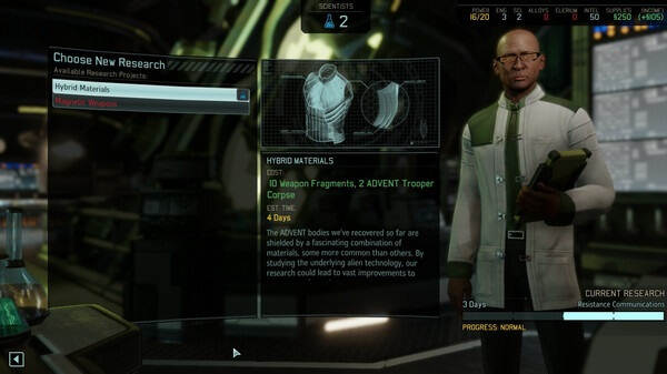 XCOM 2 New Research