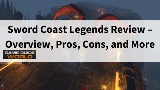sword coast legends review-flying dragon