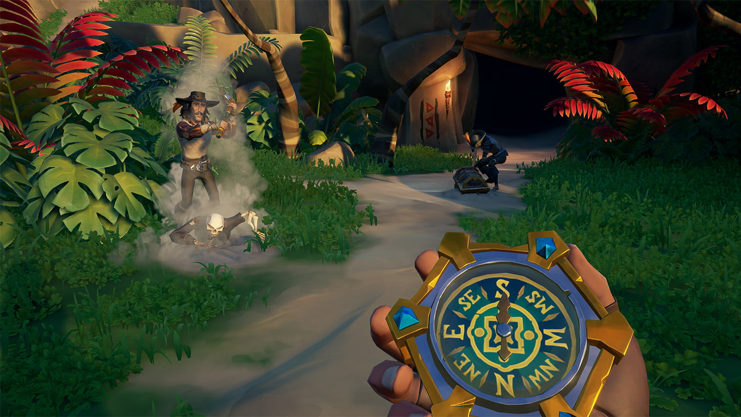 Compass and characters -Sea of thieves review