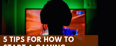 5 Tips for How to Start a Gaming Channel and behind this is a kid playing a game through his monitor